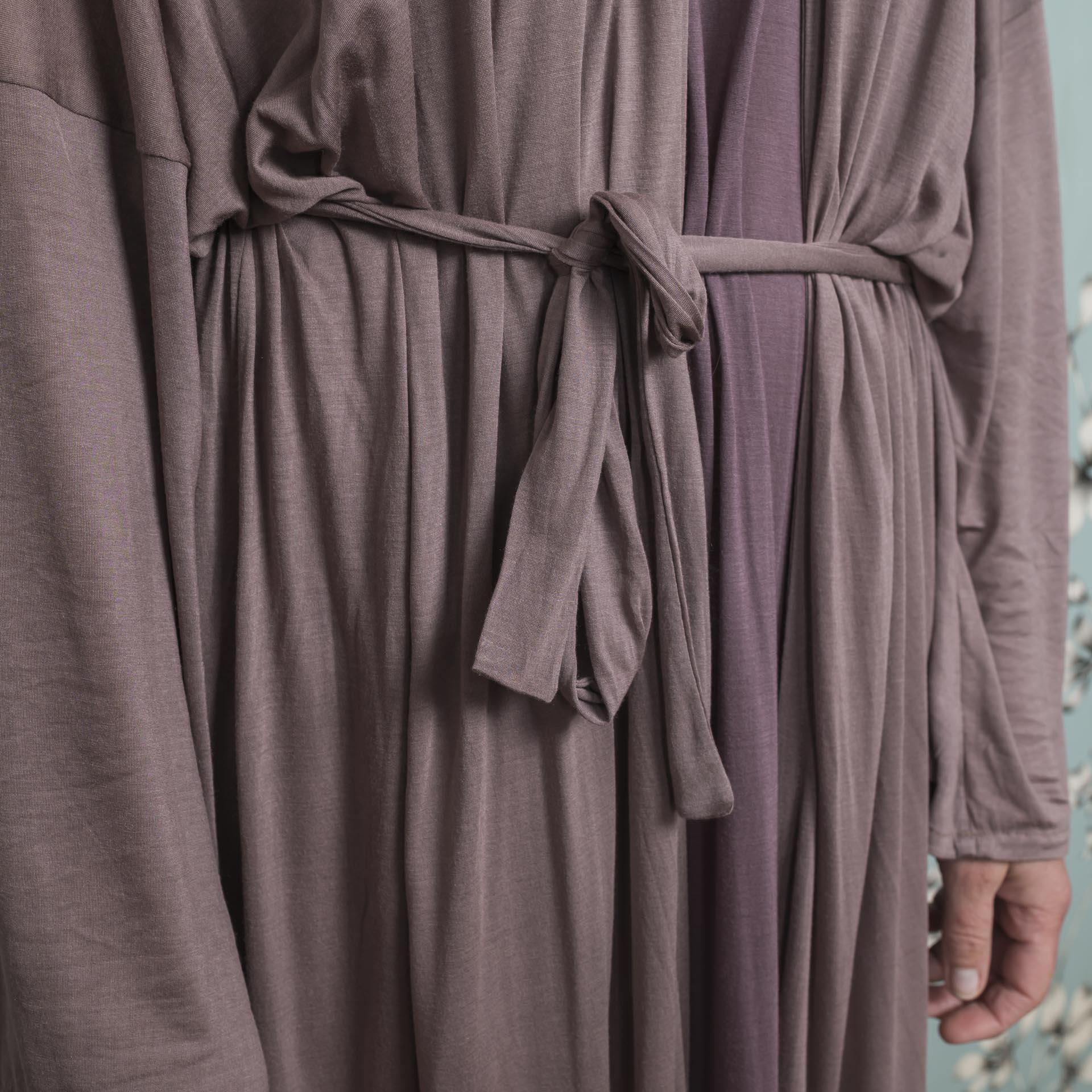 Alisa Kimono castagno (2)