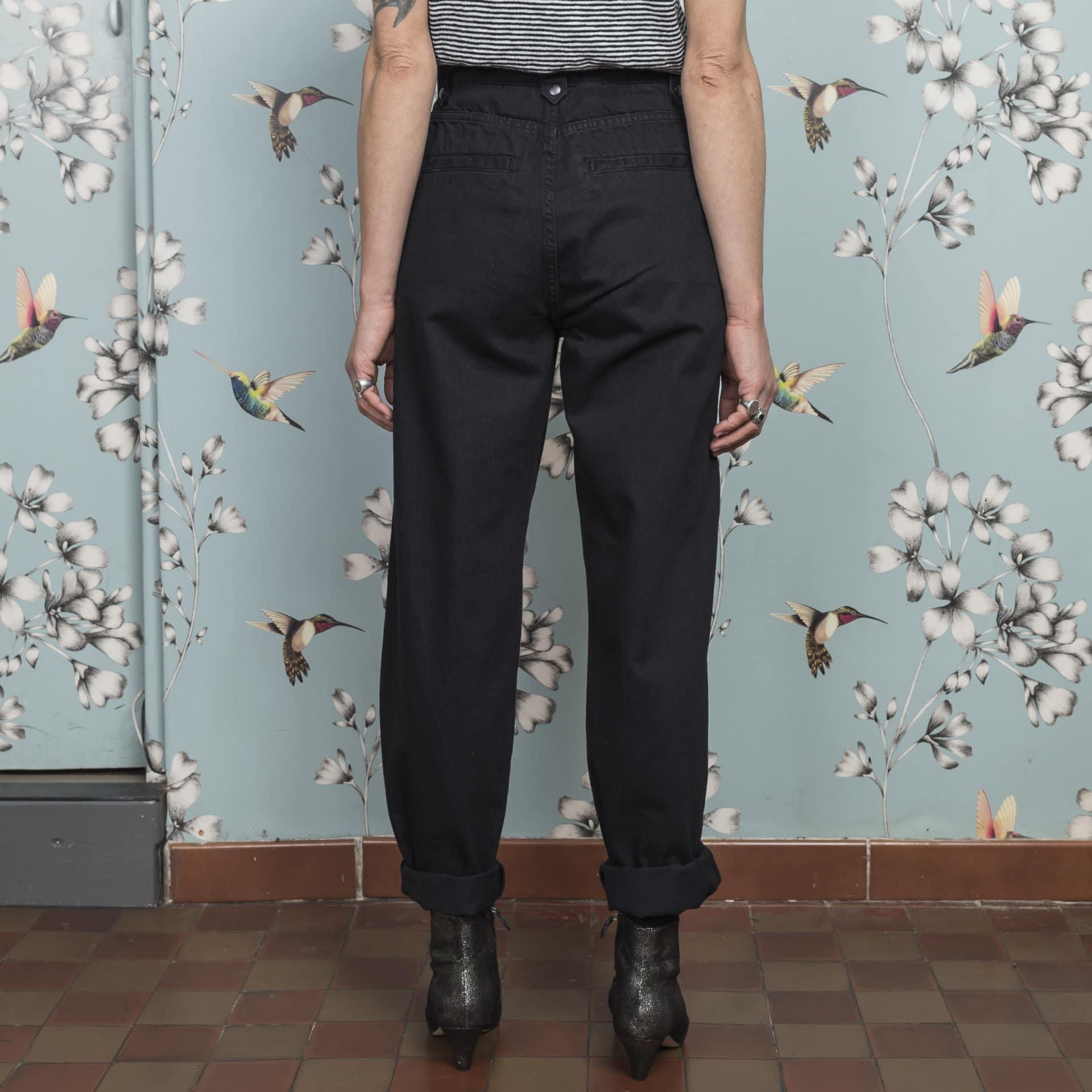 Minimum jeans mom fit nero (1)