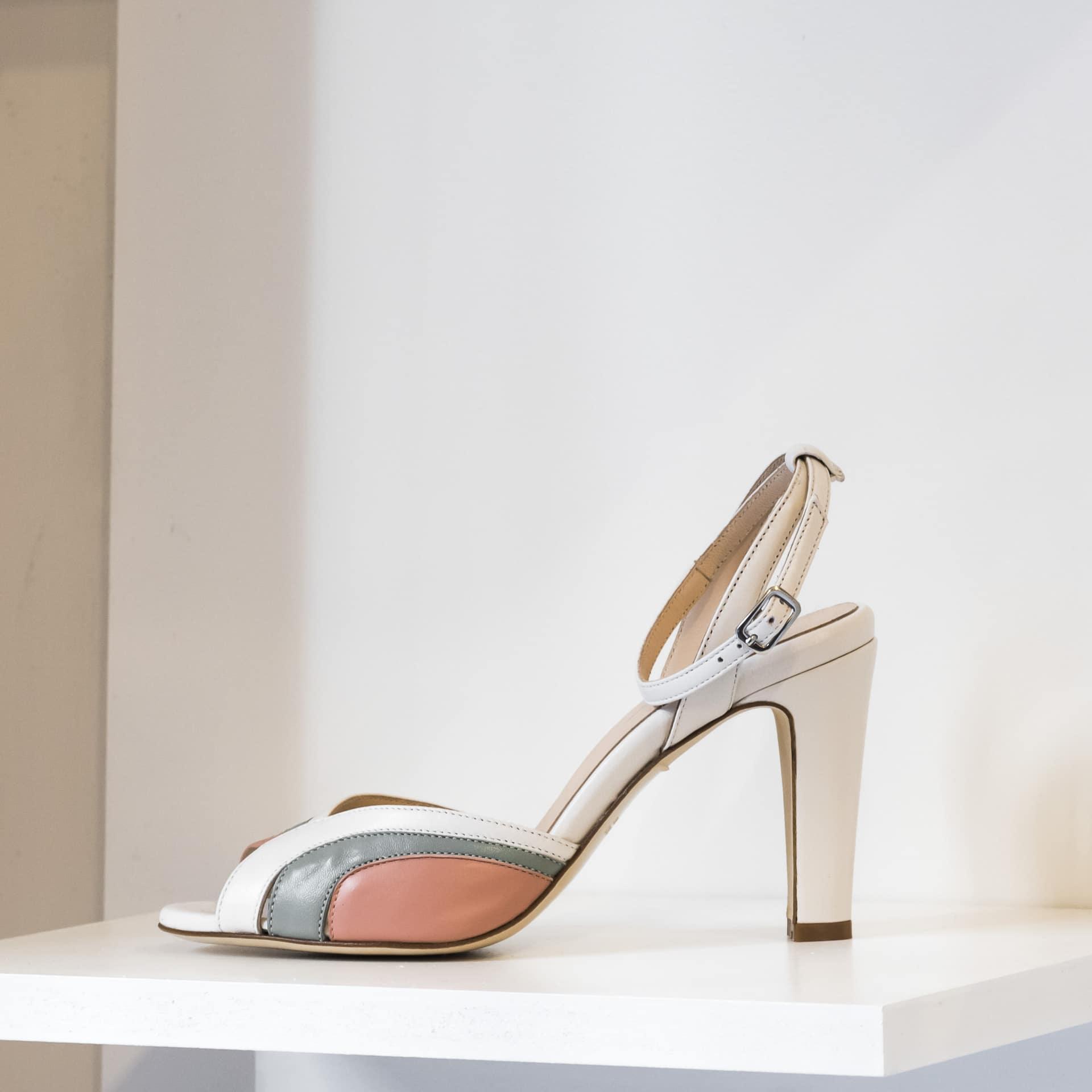 La Belle Shoes sandalo alto anni '80
