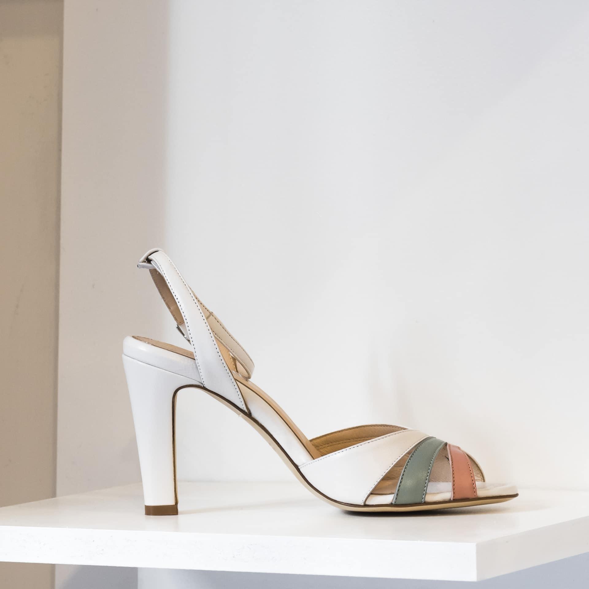 La Belle Shoes sandalo alto anni '80 (2)